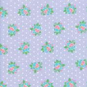 Moda - Good Day  - 6793 -  Modern Floral, Flower Pop on Lilac - 22373 16 - Cotton Fabric